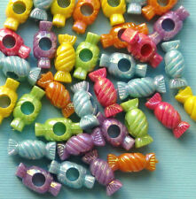 Kitschy Candy Beads (36) Assorted K097