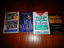 4 Real Estate Books Landlord Rentals Financing Mortgages Wealth Investing Cook