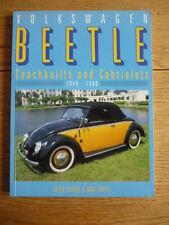 VOLKSWAGEN VW BEETLE COACHBUILTS & CABRIOLETS 1940 TO 1960 Car Book jm