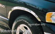 CHROME FENDER TRIM FITS DODGE RAM 1500 02-08 Mirror Stainless Steel *Short Style