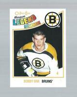 BOBBY ORR boston bruins LEGEND card *126