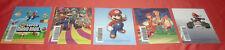 Cartes VIP Grattée Nintendo DS Super MArio 64 Luigi Kart Advance Wars JRF