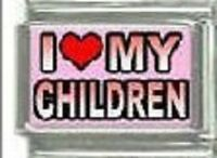 I red heart My Children WHOLESALE ITALIAN CHARM in stainless steel 9MM 2017