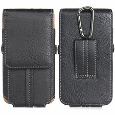 "Mini Climbing Flip PU Leather Card Case For Mobile Phone 4.7"" 5.5"" 6.3"" Pockets"