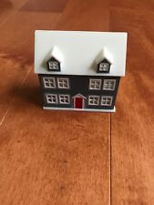 Dollhouse Miniature Toy Dollhouse for your Dollhouse Blue Red Door