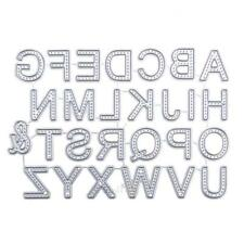 26pcs Carbon Steel Letters Cutting Dies Stencils For DIY Scrapbooking Photo S1#