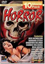 Horror 10 Movie Pack (DVD, 2005, 3-Disc Set)