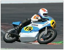 post card Suzuki TR500 1974 Bikers' Classics Spa 2008 #15 Marcel Ankone