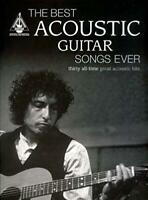 The Best Acoustic Guitar Songs Ever, Very Good Condition Book, VARIOUS, ISBN 978