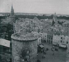 LA ROCHELLE 1900-20 - Autos Panorama Depuis la Tour St Nicolas - Div 10602