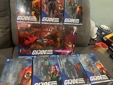 LOT(8) G.I. Joe Classified Cobra Commander , Beach Head, and Baroness And More