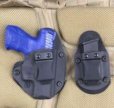 Taurus Mill pt111/pt140 G2 IWB Concealed Carry Holster Kit Black Kydex Magazine