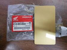 NOS Honda 1989 GL1500 1991 GL1500SE Left Blind Panel 83149-MN5-000ZK