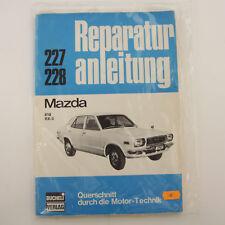 Mazda 818 RX3 - Reparaturanleitung Querschnitt durch die Motortechnik