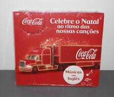 CD- COCA-COLA -CELEBRE O NATAL AO RITMO DAS NOSSAS CANÇOES MUSICA EM INGLES