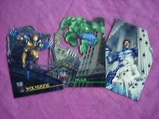 Marvel Premium QFX 1997 X3/4 Laser Blast Die Cut Chase cards  Fleer/Skybox VFN
