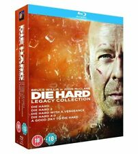 Die Hard 1-5 Blu Ray Boxset Complete Collection All Movie Films 1 2 3 4 5 New UK