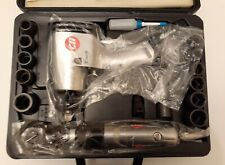 Campbell Hausfeld 3/8 Ratchet & 1/2 Impact Wrench Set