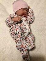 """""""LOVELY"""" BABY GIRL! Berenguer Life Like Reborn Preemie Pacifier Doll +Extras"""