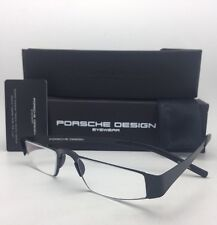 New Reader! PORSCHE DESIGN Eyeglasses P'8811 A 48-21 +2.50 Matte Black Readers