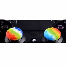 2 x Rainbow Thumbstick Joystick Silicon Grip for PS3 4 XBOX ONE XBOX 360 WII