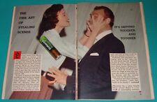 1959 ARTICLE~DEAN MARTIN~NANETTE FABARAY~BOB HOPE~STEALING SCENES~RED SKELTON