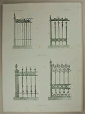 UNBEKANNT (19.Jhd), Gitter in Berlin 1860,  1860, Lithographie