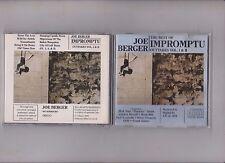 Joe Berger • The Best of Joe Berger - Impromptu Outtakes Vol. I + II  CD