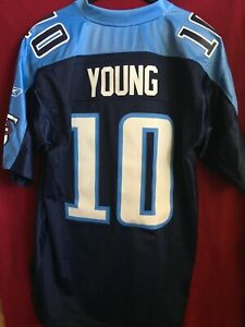 Tennessee Titans #10 Vince Young Reebok Jersey - 2XL
