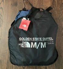 NWT North Face Golden State 72L Med Duffel Bag Luggage Backpack Blue/Teal $130