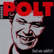 Gerhard Polt - Und Wer Zahlt's? / Kein & Aber Records CD 2000 Neu