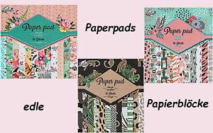 Craft Universe  Paperblock   Deluxe Paper pads  Designblock - basteljulchen-de