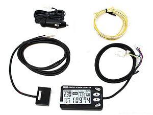 HKS 44007-AK001 Circuit Attack Counter Lap Timer C/W HKS Magnetic Strip
