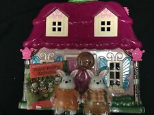 Battat Li'l Woodzeez Calico Critters Size Countryside Cottage Amelia & Elliott