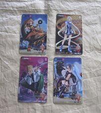 2004 SAMMY GUILTY GEAR ISUKA ID CARDS SET 2