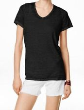 INC International Concepts Short-Sleeve  T Shirt Washed  Black M