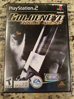 GOLDENEYE ROGUE AGENT Playstation 2 PS2 Complete CIB w/ Box, Manual Good