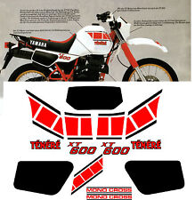 YAMAHA XT600 TENERE stickers decals aufkleber autocollant high quality XT 600