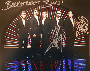 BACKSTREET BOYS - HOWIE D. & A.J. original signiert – GROSSFOTO !!!