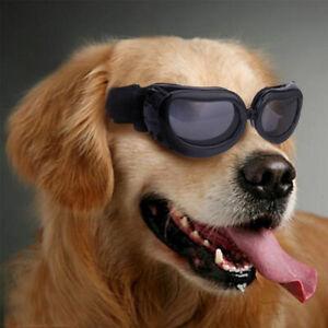 Dog Sunglasses Goggles UV Eye Protection Pet Puppy Sun Glasses Wear Black color