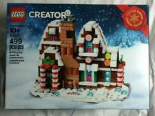 New ListingAuthentic Sealed 2019 Limited Edition Lego Creator 40337 Mini Gingerbread House