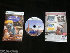 JEU PC / MAC DVD-ROM : Disney Pixar RATATOUILLE (enfants COMPLET envoi suivi)