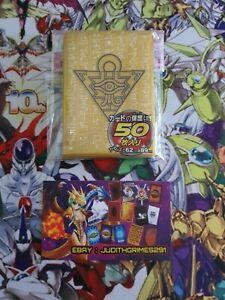 ♦️ Yu-gi-oh  50  Protège Carte Sleeve Millenium Or Gold