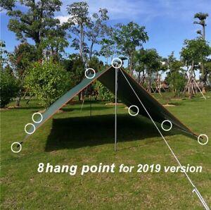 Waterproof Tarp Tent Shade Ultralight Garden Canopy Sunshade Outdoor Camping HOT