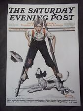 Saturday Evening Post October 4 1919 Norman Rockwell (COVER ONLY) reprint