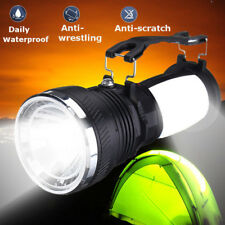 Solar Power Camping LED Light Outdoor Rechargeable Flashlight Lantern Torch Lamp