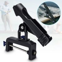 Adjustable Raft Boat Kayak Fishing Rod Pole Stand Bracket Mount Holder Rest Rack