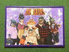 More details for disney dinosaurs original poster 1991-1994 professionally framed baby sinclair