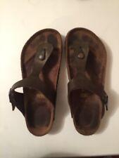 Birkenstock Gizeh Women's Leather Sandal - Size 8.5,