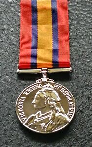 Collectable Queen Victoria South Africa Military Award Medal
